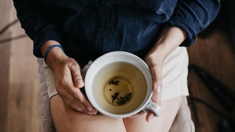 acne and tea
