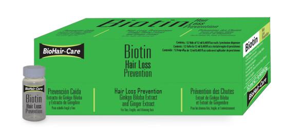 Biotin causes acne