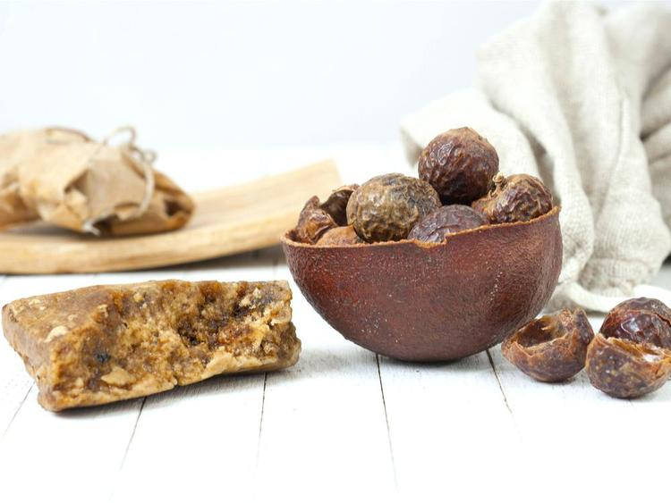 African black soap can be used as a gentle cleanser to help treat acne