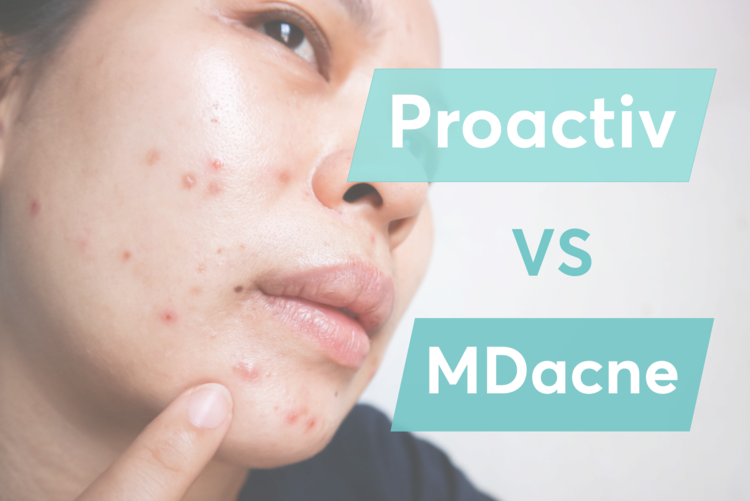 A comparison between MDacne, ProactivMD, and Proactiv Plus for treating acne