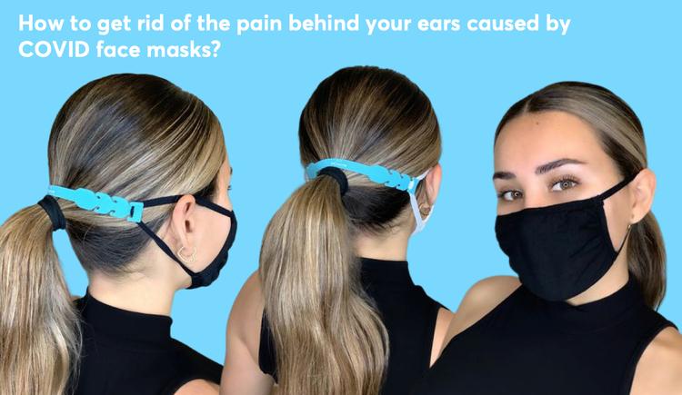 Free ear saver mdacne mask