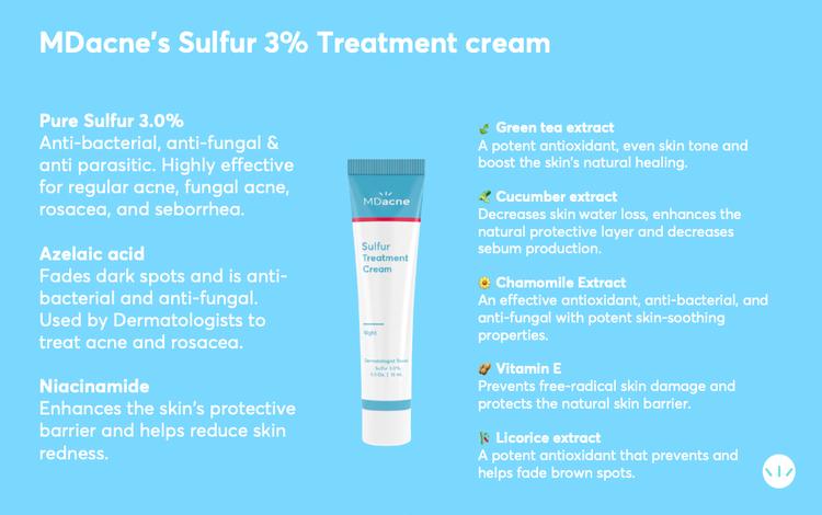 Best sulfur cream for rosacea seborrhea and fungal acne