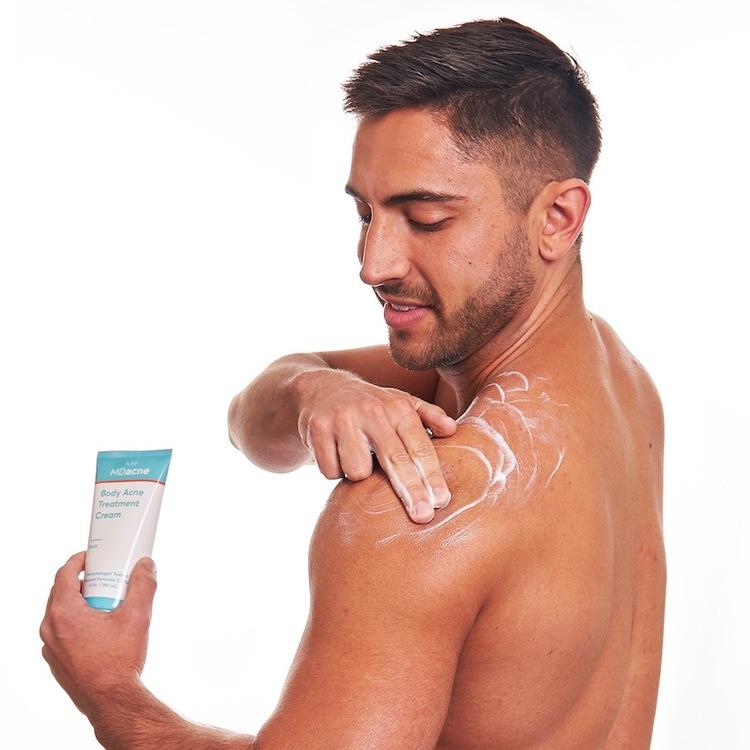 Body acne cream 21