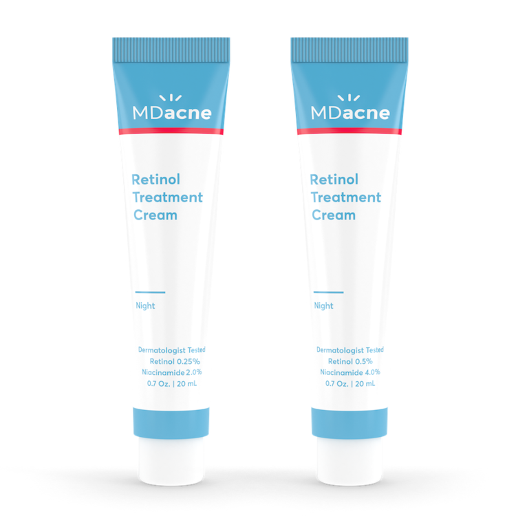 Retinol treatment system